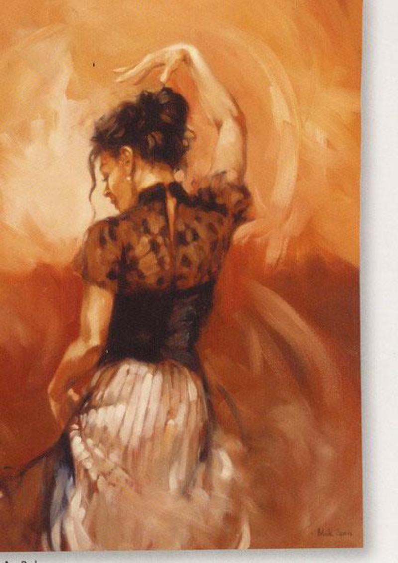 Peinture Danseuse Espagnole